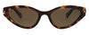 Polaroid Sleek Cat-Eye PLD4074/S Women's Sunglasses Brown/Tortoise Shell