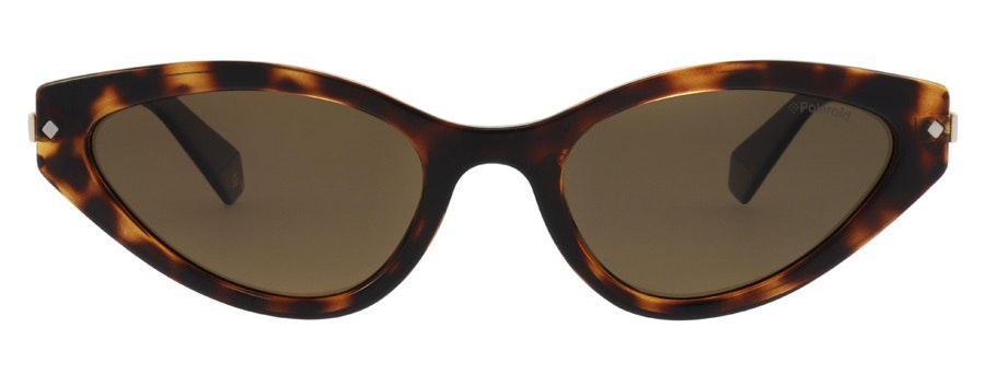 Polaroid Sleek Cat-Eye PLD 4074/S Women's Sunglasses Brown/Tortoise Shell