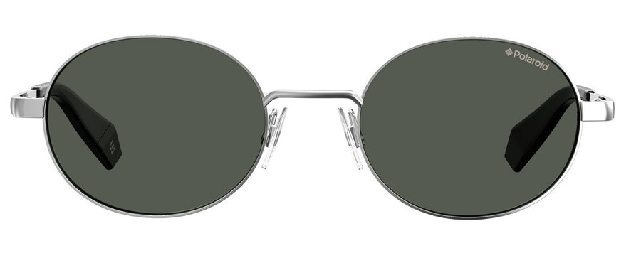 Polaroid Oval Pop PLD 6066/S Unisex Sunglasses Grey/Silver