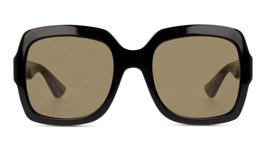 Gucci GG 0036S Women's Sunglasses Brown/Black