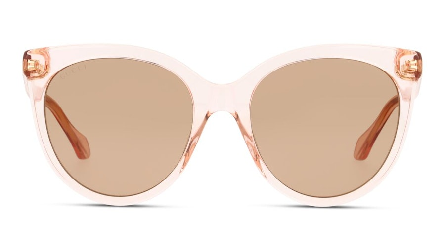 Gucci GG 0565S Women's Sunglasses Brown/Transparent