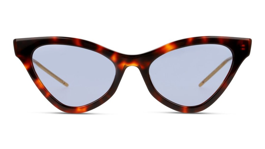 Gucci GG 0597S Women's Sunglasses Blue/Tortoise Shell