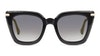 Jimmy Choo Ciara Women's Sunglasses Grey/Black
