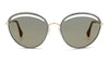 Jimmy Choo Malya Women's Sunglasses Grey/Gold