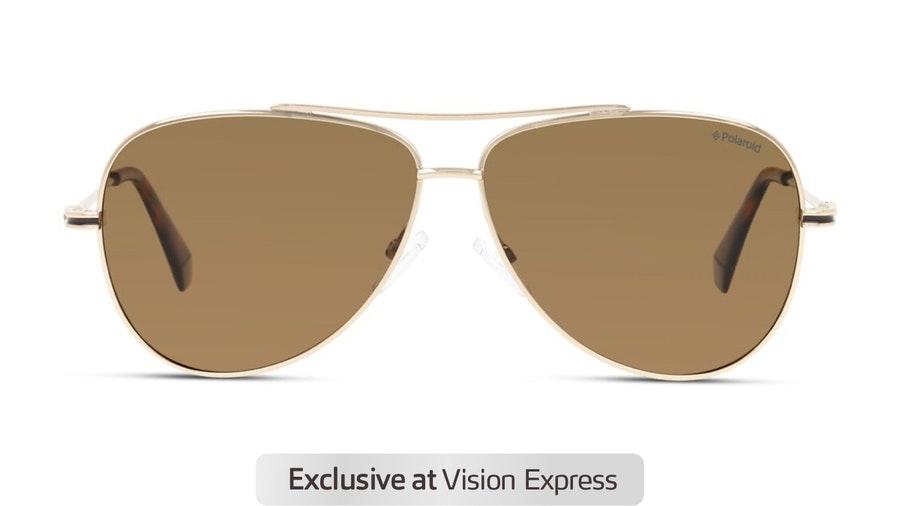Polaroid PLD 6106/S Men's Sunglasses Bronze/Gold