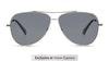 Polaroid 6106/S/X Men's Sunglasses Grey/Silver