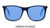 Polaroid 6103/S/X Men's Sunglasses Blue/Navy