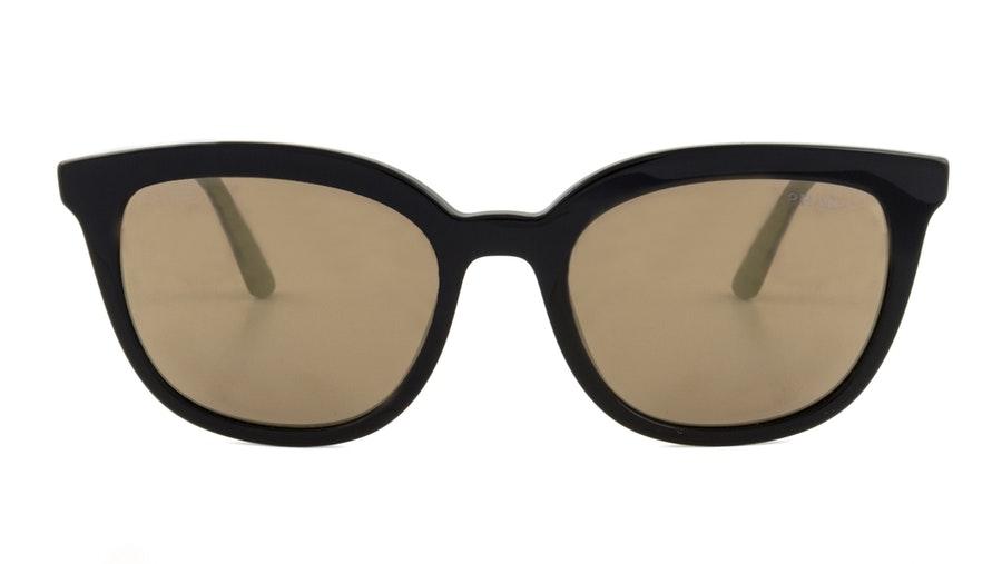 Prada PR 03XS Women's Sunglasses Brown / Black