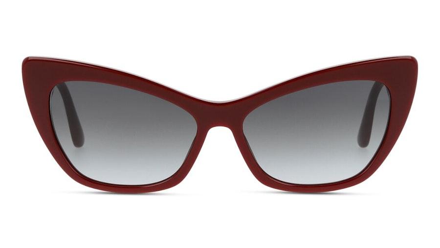 Dolce & Gabbana DG 4370 Women's Sunglasses Grey/Burgundy