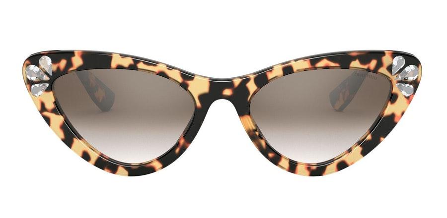 Miu Miu MU 01VS Women's Sunglasses Brown / Tortoise Shell