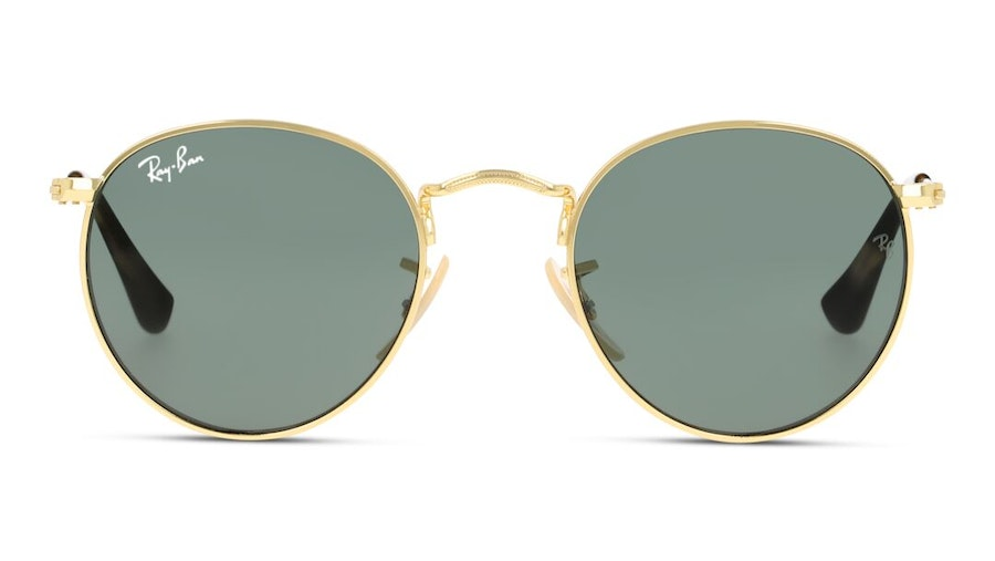 Ray-Ban Juniors RJ 9547S Children's Sunglasses Green/Gold