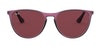 Ray-Ban Juniors RJ 9060S Children's Sunglasses Violet/Pink