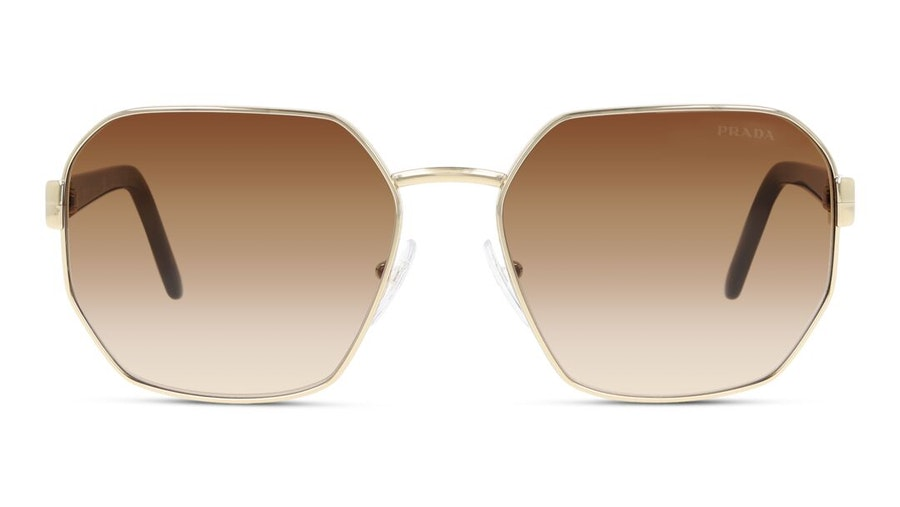 Prada PR54XS Women's Sunglasses Brown/Gold