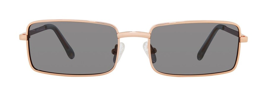Prive Revaux Matrix by Madelaine Petsch Unisex Sunglasses Grey/Gold
