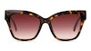 Longchamp LO 650S Women's Sunglasses Brown/Tortoise Shell