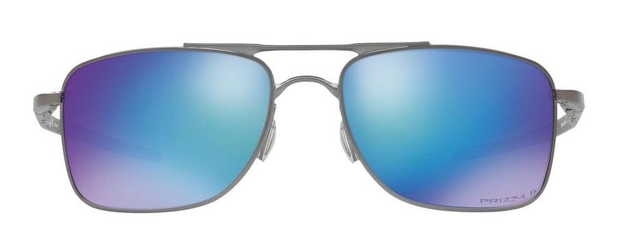 Oakley Gauge 8 OO4124 Men's Sunglasses Blue/Grey