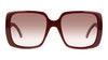 Gucci GG 0632S Women's Sunglasses Red/Red