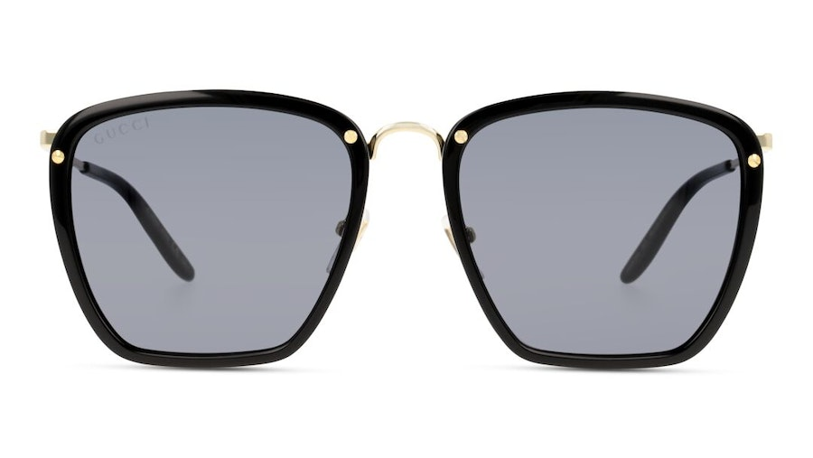 Gucci GG 0673S Men's Sunglasses Grey/Black