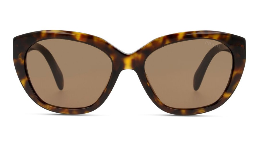 Prada PR 16XS Women's Sunglasses Brown/Havana