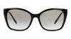Prada PR12XS Women's Sunglasses Grey/Black