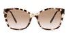 Prada PR12XS Women's Sunglasses Brown/Havana