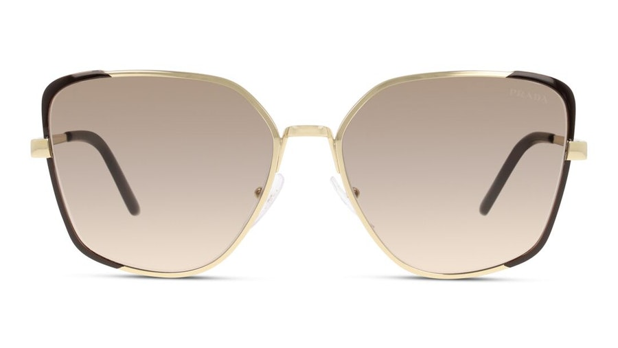 Prada PR6XS Women's Sunglasses Brown/Gold