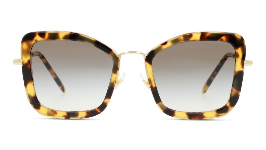 Miu Miu MU 55VS Women's Sunglasses Brown/Havana