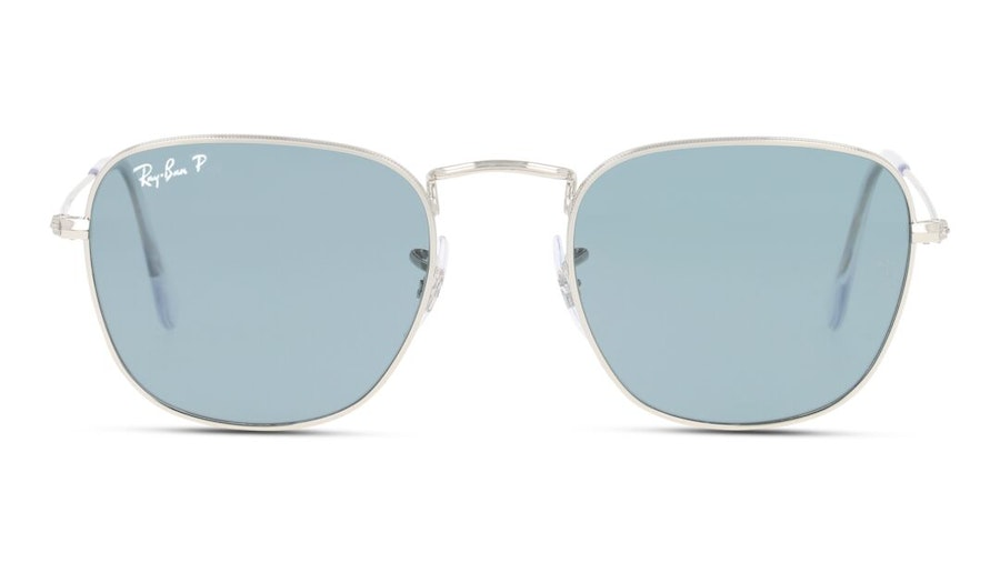 Ray-Ban Frank Legend Gold RB 3857 Unisex Sunglasses Grey/Silver