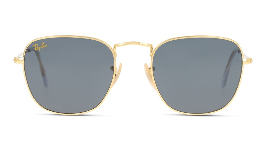 Ray-Ban Frank Legend Gold RB 3857 Unisex Sunglasses Grey/Gold