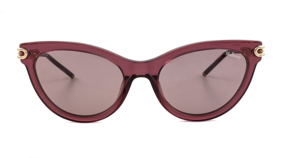 Mulberry SML 038 (01CK) Sunglasses Violet / Red