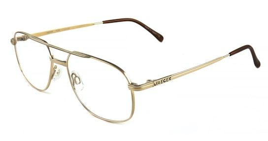 206 (C10) Glasses Transparent / Gold