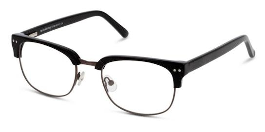 IS H49 Men's Glasses Transparent / Black