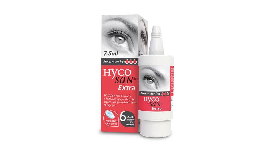 Hycosan Extra Preservative Free Eye Drops