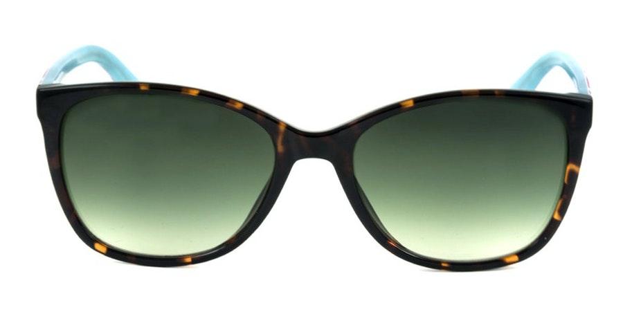 Joules Chesil JS 7050 Women's Sunglasses Green / Tortoise Shell