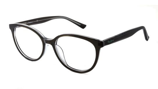 PJ 4056 (C5) Children's Glasses Transparent / Black