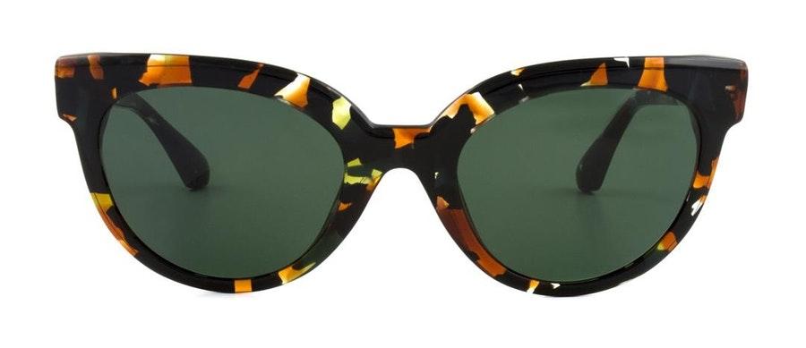 Sandro SD 6001 Women's Sunglasses Green / Gold