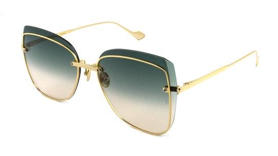Saskia (400) Sunglasses Green / Gold
