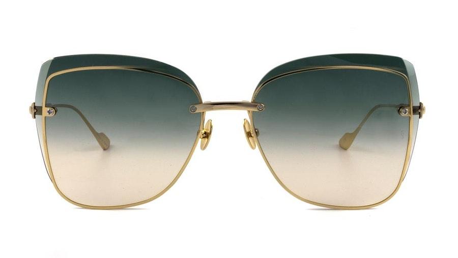Sunday Somewhere Saskia (400) Sunglasses Green / Gold