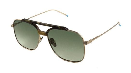 SS 6003 (494) Sunglasses Green / Gold