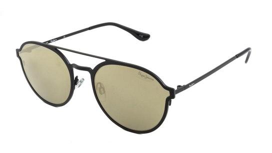 PJ 5173 Unisex Sunglasses Gold / Black