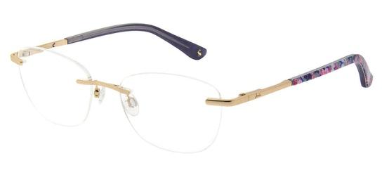 Olivia JO 1041 Women's Glasses Transparent / Gold