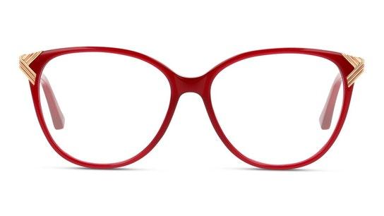 TB 9197 (200) Glasses Transparent / Burgundy