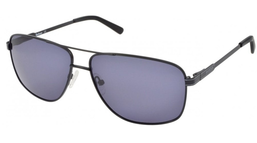 Barbour BS 052 (C1) Sunglasses Grey / Black