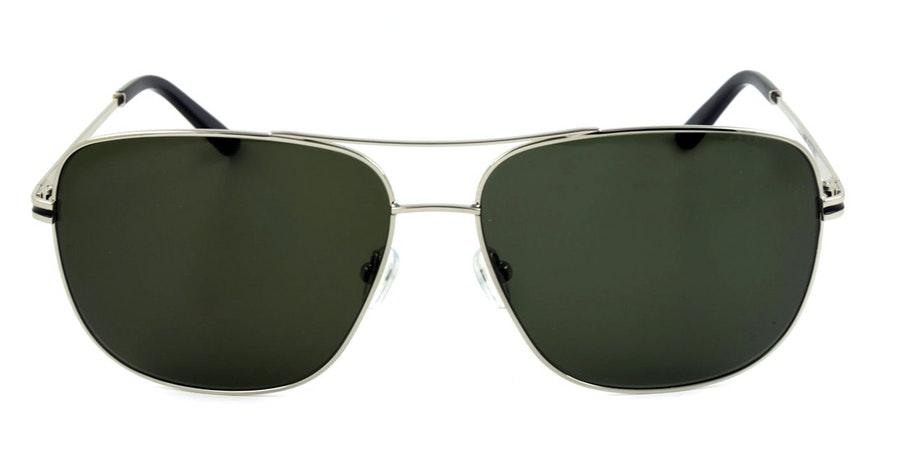 Barbour BS 059 Men's Sunglasses Green / Silver