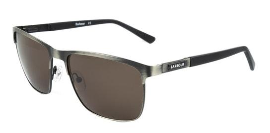 BS 061 Men's Sunglasses Brown / Grey
