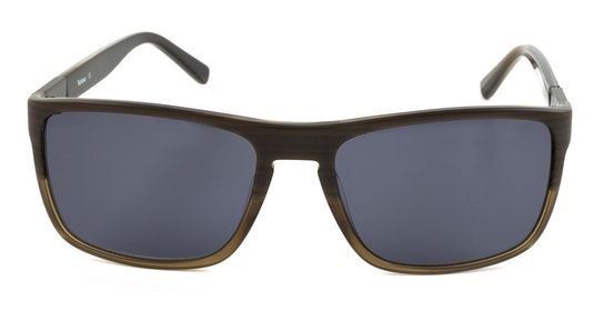 BS 062 Men's Sunglasses Grey / Brown