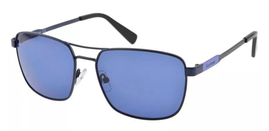 Barbour BS 089 (C1) Sunglasses Brown / Blue