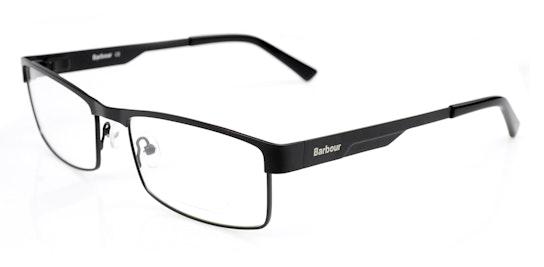 BI 026 (Large) Men's Glasses Transparent / Black