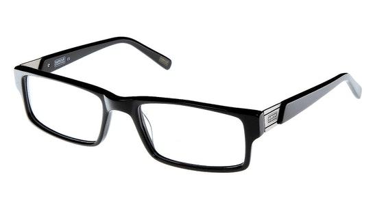 BI 012 Men's Glasses Transparent / Black