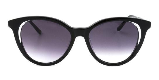 Rhiannon WHS011 (BLK) Sunglasses Grey / Black